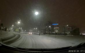 Zima wróciła do Gdańska