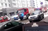Interwencja Straży Pożarnej na osieldu Słoneczna Morena
