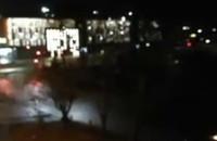 Nocne testy systemu pożarowego w Forum Gdańsk