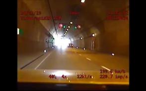 Jechał 198 km/h tunelem pod Martwą Wisłą