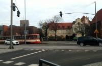 Stoją tramwaje w centrum Gdańsk