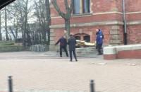 Figura Tuska znika sprzed Rady Miasta Gdańska