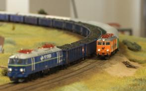 Makieta kolejowa w Galerii Metropolia