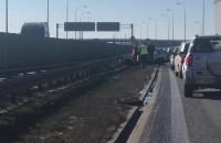 Wypadek na obwodnicy przed autostradą