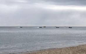 Ćwiczenia wojskowe na wodach zatoki
