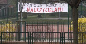 Strajk nauczycieli: pierwszy dzień