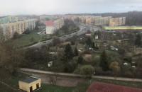 Delikatnie prószy śnieg na Witominie