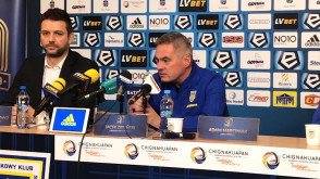 Arka Gdynia. Prezentacja nowego trenera