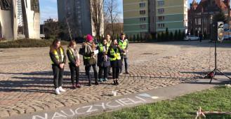 Przemówienie uczennicy I LO w Gdańsku