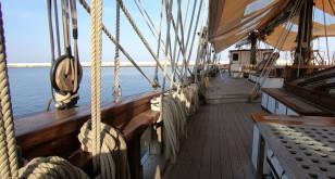 Na pokładzie francuskiego żaglowca Le Marité