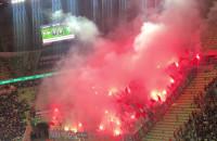 Race Legii Warszawa na meczu z Lechią
