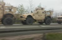 Amerykańskie wojsko na obwodnicy
