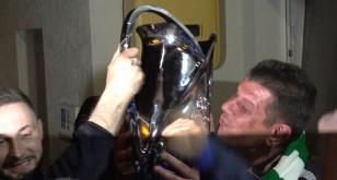 Kibice powitali Lechię Gdańsk i Puchar Polski
