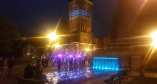 Carillon i fontanna  - wieczorne koncerty