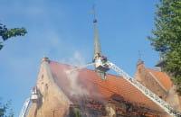 Pożar kościoła św. Piotra i Pawła