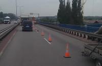 Trwa naprawa dylatacji na moście wantowym