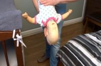 Zadławienie niemowlak