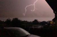 Burza na Łostowicach w slow motion