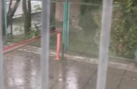 Mocny deszcz