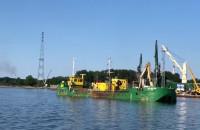 Pogłębianie portu wewnętrznego w Gdańsku