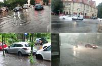 Burza nad Sopotem i Gdynią - kompilacja filmów czytelników