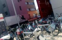 Rowery Mevo przy stadionie Gdyni