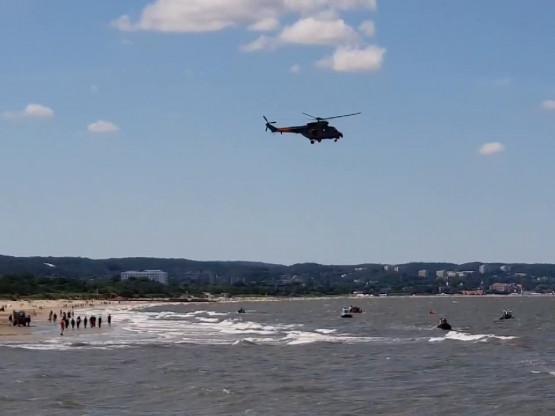 Akcja ratunkowa w Brzeźnie
