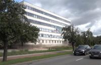 Rozbiórka biurowca przy ul. Marynarki Polskiej w Gdańsku