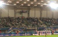 Kibice Lechii dziękują Lukasowi Haraslinowi za gole w Superpucharze Polski
