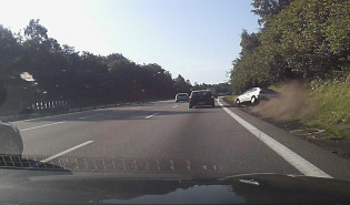 Wypadek na Obwodnicy na odcinku Witomino-Karwin