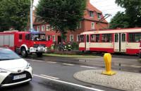 Skutki wypadku na Kartuskiej w Gdańsku