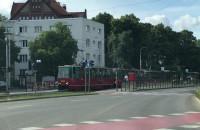 Zabytkowy tramwaj na ulicach Gdańska