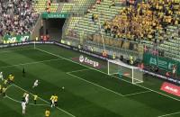 Lechia - Broendby. Gol Flavio Paixao na 1:0
