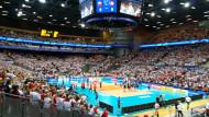 Polscy siatkarze wygrali z Tunezją 3:0 w Ergo Arenie