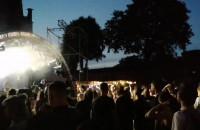 Koncert podczas festiwalu muzyki elektronicznej Wisłoujście