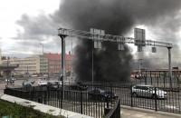 Ewakuacja Forum Gdańsk i pożar auta w tunelu