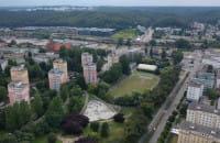 Park Centralny w Gdyni z lotu ptaka
