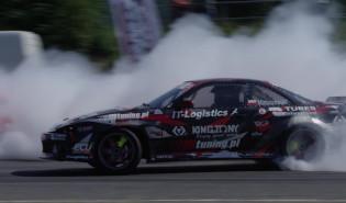 Sebastian Matuszewski drifting