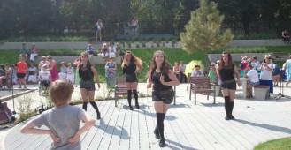 Park Centralny w Gdyni - tańce