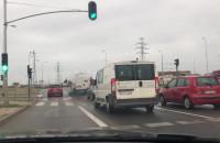 Kopciuch drogowy na ulicach Gdańska