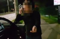 Agresywny kierowca kontra hulajnoga elektryczna
