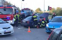 Zderzenie dwóch aut przy Rivierze w Gdyni