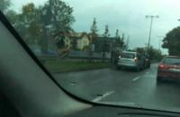 Zderzenie 3 aut w Sopocie