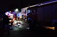 Pożar pizzerii na Chełmie