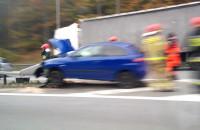 Wypadek na obwodnicy w stronę Gdyni