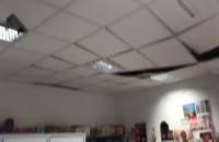 Sufit spadł na klientkę poczty w Gdyni