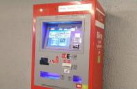 Ćwierkający automat biletowy