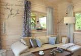::SeaUSasino:: Luksusowe, całoroczne drewniane domy z kominkami do wynajęcia nad morzem