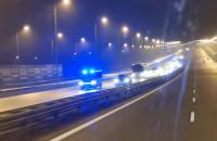 Autokar piłkarzy Legii konwojowany przez policję