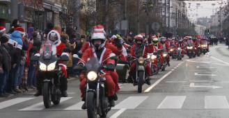 Mikołaje na motocyklach po raz kolejny przejechali przez Trójmiasto
